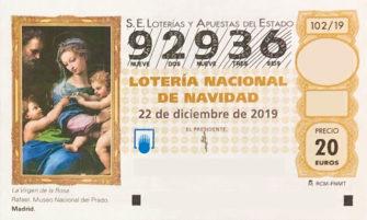 Lotería de Navidad de Soria 92936