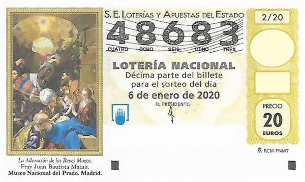 Lotería del Niño 48683