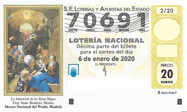 Lotería del Niño 70691