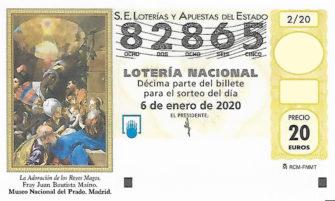 82865 Lotería del Niño